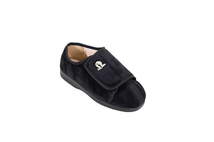 Cameron pantoffel zwart